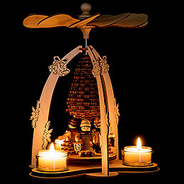 1-Tier Pyramid - Lantern Children - 24 cm / 9.4 inch