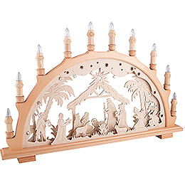 Candle Arch - Nativity   - 66x44 cm / 26x17.3 inch