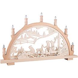 Candle Arch - Wildlife Feeding - 66x44 cm / 26x17.3 inch