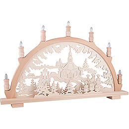 Candle Arch - Seiffen Church - 66x44 cm / 26x17.3 inch