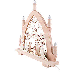 Candle Arch - Nativity - 41x42 cm / 16.1x16.5 inch