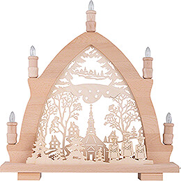 Candle Arch - Seiffen Church  - 41x42 cm / 16.1x16.5 inch
