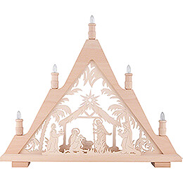 Light Triangle - Nativity - 60x48 cm / 23.6x18.9 inch