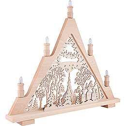 Light Triangle - Seiffen Church - 60x48 cm / 23.6x18.9 inch