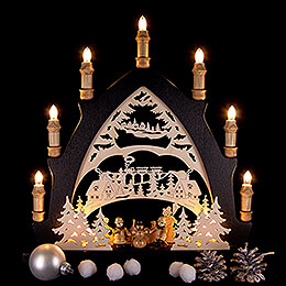 Candle Arch - Winder Children - 43x45 cm / 16.9x17.7 inch