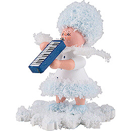 Snowflake with Melodica - 5 cm / 2 inch