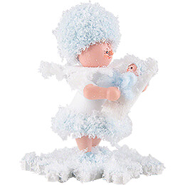 Snowflake with Baby Boy - 5 cm / 2 inch