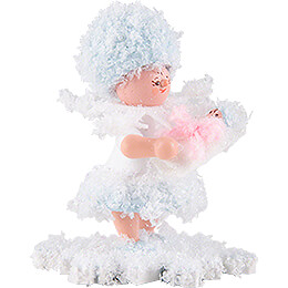 Snowflake with Baby Girl - 5 cm / 2 inch