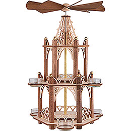 Handicraft Set - 2-Tier Pyramid - without Figurines - 41 cm / 16.1 inch