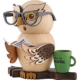 Räuchereule Brilleneule - 15 cm