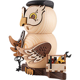 Smoker - Owl Mechanic - 15 cm / 5.9 inch