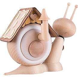Smoker - Snail Sunny Gingerbread Snail - 16 cm / 6.3 inch