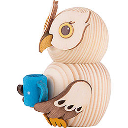 Mini Owl with Cup - 7 cm / 2.8 inch