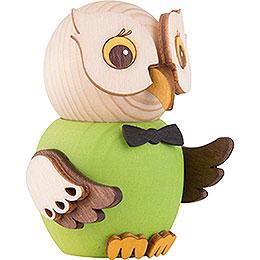 Mini Owl Green - 7 cm / 2.8 inch
