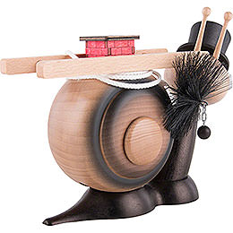 Smoker - Snail Sunny Chimney Sweep Snail - 16 cm / 6.3 inch