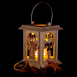 Lantern Angel and Miner - 24 cm / 9.4 inch