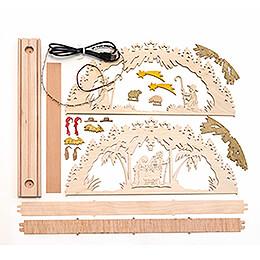 Handicraft Set - Candle Arch - Nativity - 55x27 cm / 21.7x10.6 inch