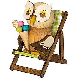 Deckchair for Mini Owls - 8 cm / 3.1 inch