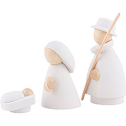 The Holy Family White/Natural - Small - 7 cm / 2.8 inch