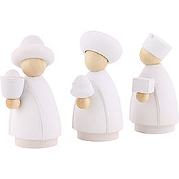 The Three Wise Men White/Natural - 7 cm / 2.8 inch