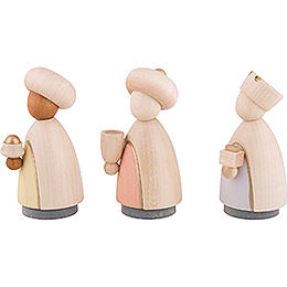The Three Wise Men Colored - Large - 10,0 cm / 4.0 inch