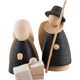 The Holy Family Natural/Anthracite - Mini - 5 cm / 2 inch