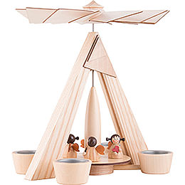 1-Tier Pyramid - Angels Natural - 29 cm / 11.2 inch