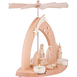 1-Tier Pyramid - Nativity - 23 cm / 9 inch