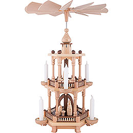 2-Tier Pyramid - Nativity - 51 cm / 20 inch