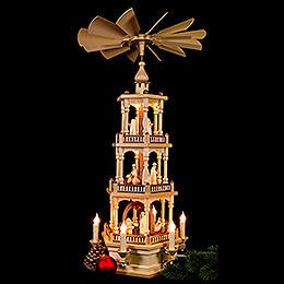 3-stöckige Pyramide Christi Geburt - 73 cm