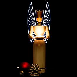 Lichterengel modern mit leuchtenden Flügeln - 36 cm
