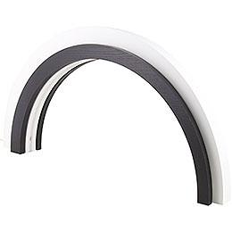 Wood-Design LED Arch - Dark - KAVEX-Nativity - 75x40 cm / 30x16 inch