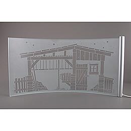 Bogenkulisse DOMA - KAVEX-Krippe - 27,5 cm