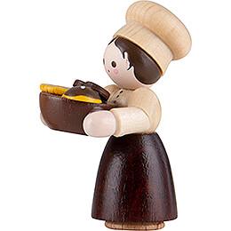 Thiel-Figur Bäckermädchen - natur - 4,6 cm
