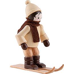 Thiel Figurine - Ski Jumper - natural - 6 cm / 2.4 inch