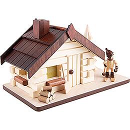 Räucherhaus Abfahrtsläufer - 11 cm