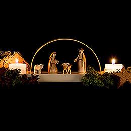 Candle Arch - Nativity - 24x12 cm / 9.4x4.7 inch
