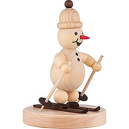 Snowman - Junior Skier - 9 cm / 3.5 inch