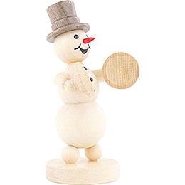Snowman Musician Cymbals - 12 cm / 4.7 inch