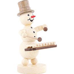 Snowman Musician Xylophone - 12 cm / 4.7 inch