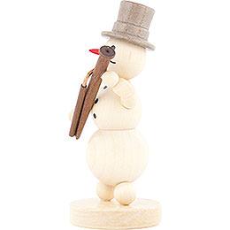 Snowman Musician Bassoon - 12 cm / 4.7 inch