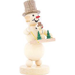 Snowman Vendor's Tray - 12 cm / 4.7 inch