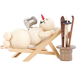Snowman Deckchair - 12 cm / 4.7 inch