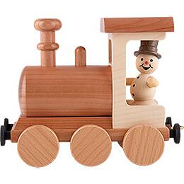 Smoker - Snowman Locomotive - 15 cm / 5.9 inch