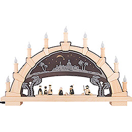 Candle Arch - Nativity - 66x40 cm / 26x15.7 inch