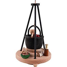 Smoker - Goulash Kettle - 16 cm / 6.3 inch