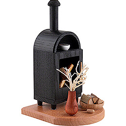 Smoker - Fireplace - 19 cm / 7.5 inch