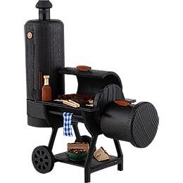 Räucher-Grill Barbecue-Smoker - 21 cm