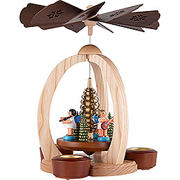1-Tier Pyramid Angel Musicians - Exclusive - 28 cm / 11 inch