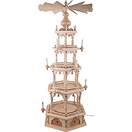 4-Tier Pyramid - without Figurines - 140 cm / 55.1 inch